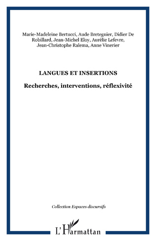 Couverture Langues et insertions