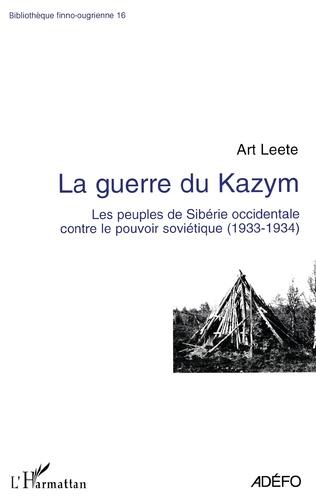 Couverture La guerre du Kazym