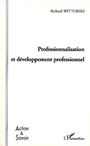 Couverture Professionnalisation et développement professionnel