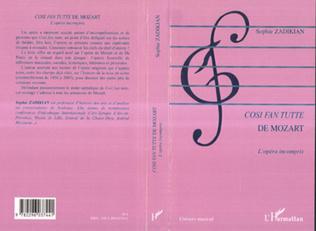 Couverture Cosi fan tutte de Mozart