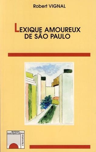 Couverture Lexique amoureux de Sao Paulo