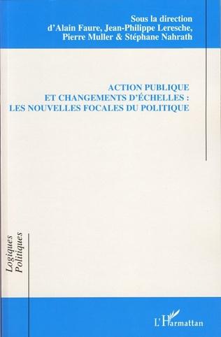 Couverture Action publique et changements d'échelles