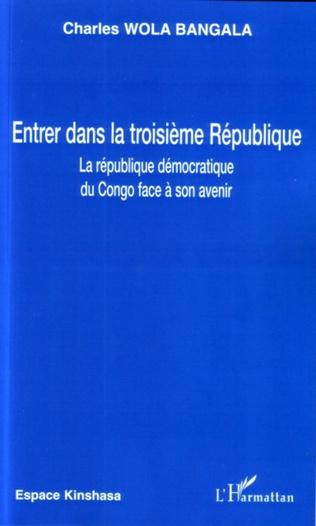 Couverture Entrer dans la troisième république