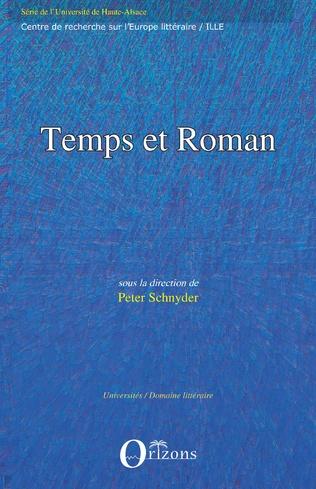 Couverture Temps et roman