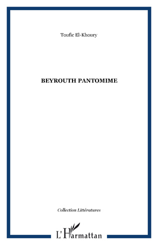 Couverture Beyrouth pantomime