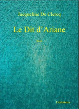 Couverture Le Dit d'Ariane