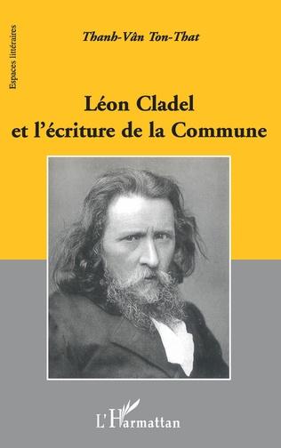 Couverture Léon Cladel et l'écriture de la Commune