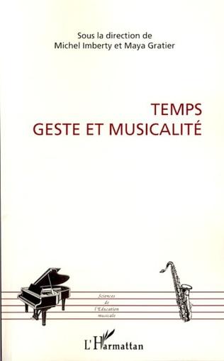 Couverture Temps, geste et musicalité