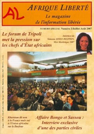 Couverture Afrique Liberté N°2