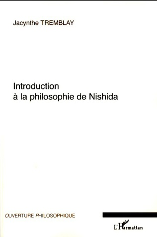 Couverture Introduction à la philosophie de Nishida