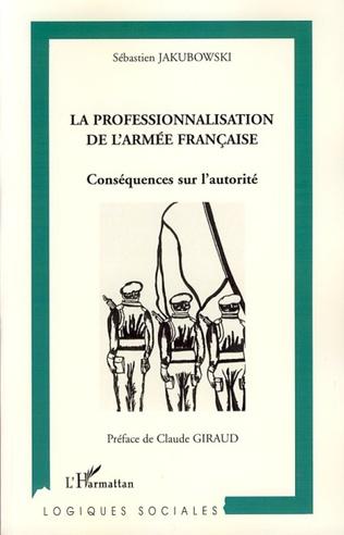 Couverture La professionnalisation de l'armée française