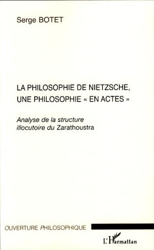 Couverture La philosophie de Nietzsche, une philosophie