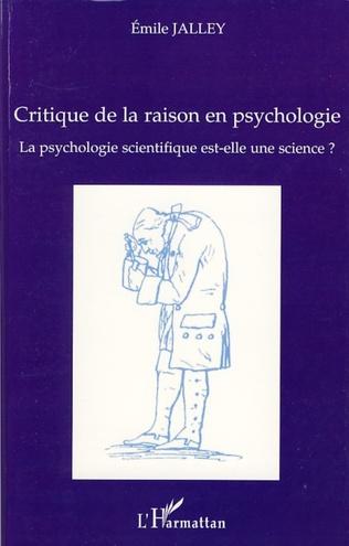 Couverture Critique de la raison en psychologie