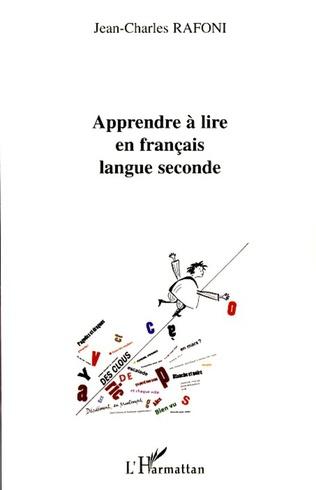Apprendre A Lire En Francais Langue Seconde Jean Charles
