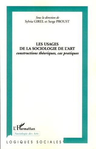 Couverture Les usages de la sociologie de l'art
