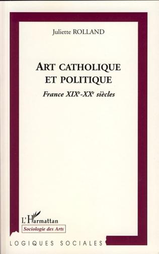 Couverture Art catholique et politique