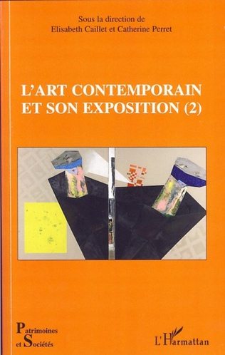 Couverture L'art contemporain et son exposition (2)