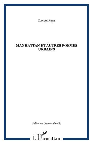 Couverture Manhattan et autres poèmes urbains