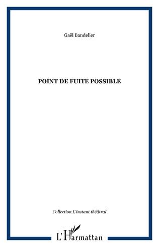 Couverture Point de fuite possible