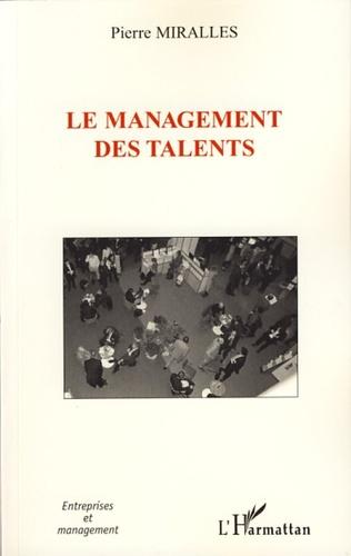 Couverture Le management des talents