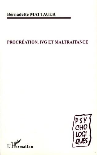 Couverture Procréation, IVG et maltraitance