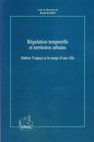 Couverture Régulation temporelle et territoires urbains