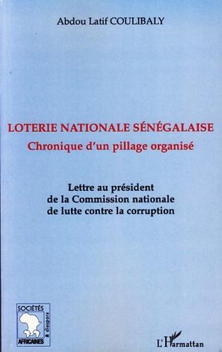 Couverture Loterie nationale sénégalaise
