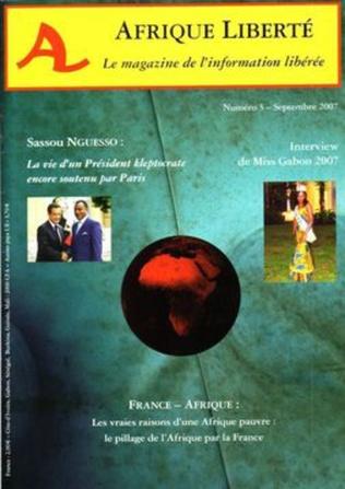 Couverture Afrique Liberté N°3