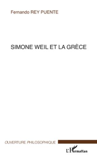 Couverture Simone Weil et la Grèce