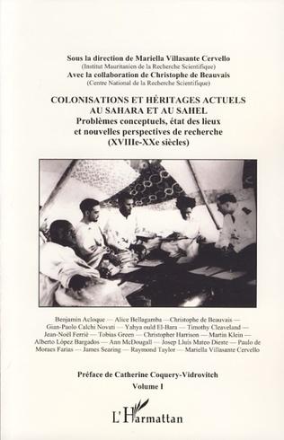 Couverture Les producteurs de l'histoire mauritanienne