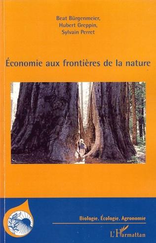 Couverture Economie aux frontières de la nature