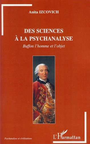 Couverture Des sciences à la psychanalyse
