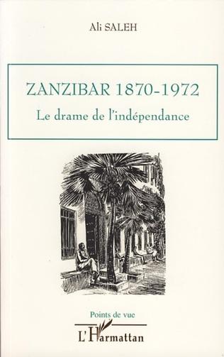 Couverture Zanzibar 1870-1972