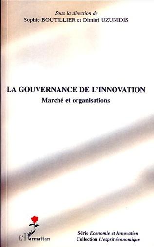 Couverture La gouvernance de l'innovation