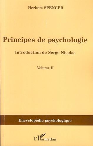 Couverture Principes de psychologie (volume 2)