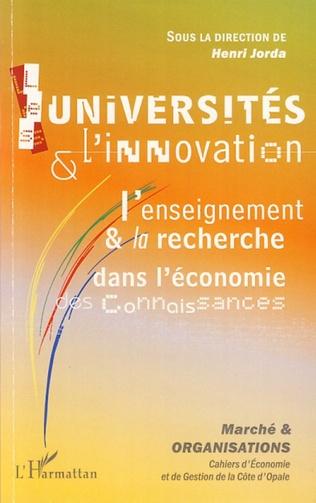 Couverture Les universités et l'innovation
