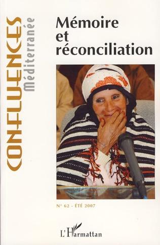 Couverture Mémoire et réconciliation