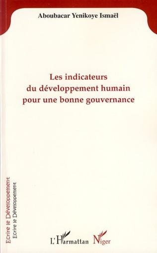 Couverture Les indicateurs du développement humain pour une bonne gouvernance