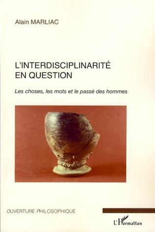 Couverture L'interdisciplinarité en question