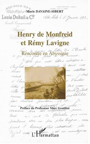 Couverture Henry de Monfreid et Rémy Lavigne