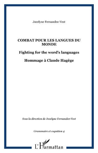 Couverture Combat pour les langues du monde