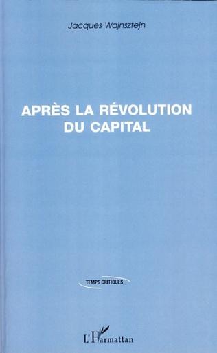 Couverture Après la révolution du capital