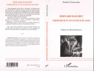 Couverture Bernard Baschet