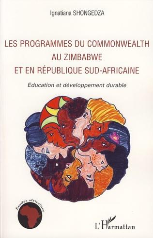 Couverture Les programmes du Commonwealth au Zimbabwe et en République Sud-africaine