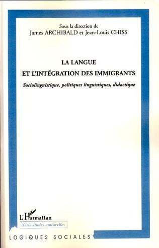 Couverture La langue et l'intégration des immigrants
