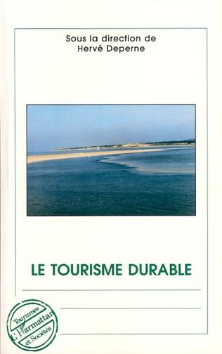 Couverture Le tourisme durable