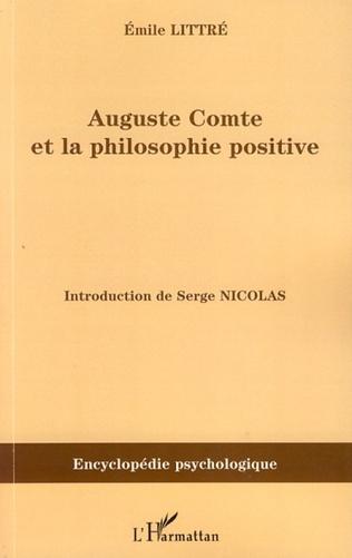 Couverture Auguste Comte et la philosophie positive