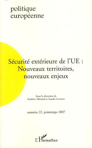 Couverture Sécurité extérieure de l'UE