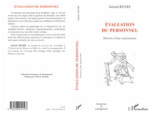 Couverture Evaluation du personnel