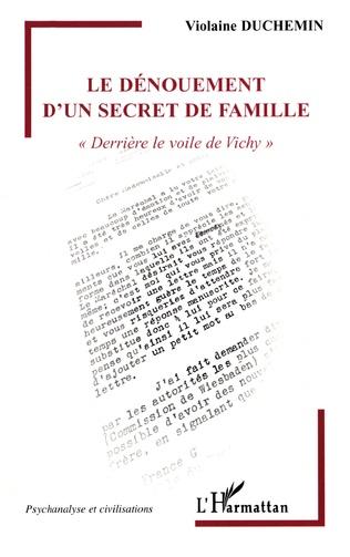 Couverture Le dénouement d'un secret de famille